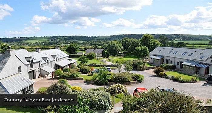 East Jordeston holiday cottages near Tenby in Pembrokeshire