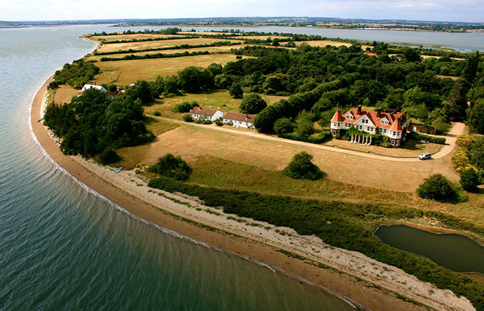 An Exclusive Luxury Island Holiday Resort In South East England