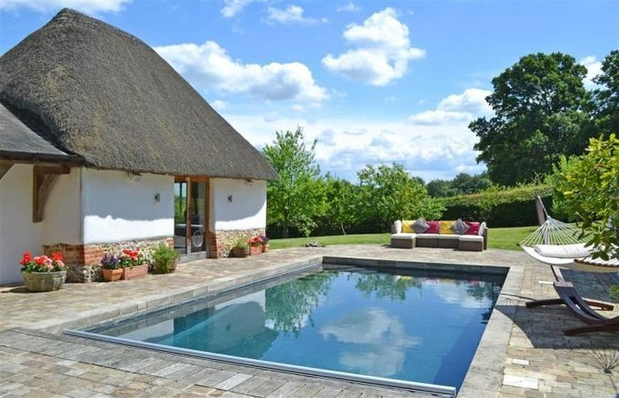 Whiteshoot Farm Luxury New Forest Cottage With Swimming Pool