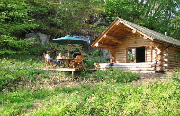 Shank Wood Lake District Log Cabin With Hot Tub
